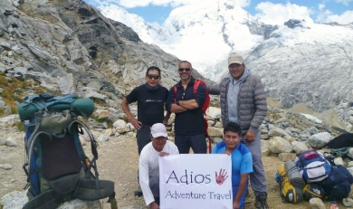 Cordillera Blanca Trek 7 Days